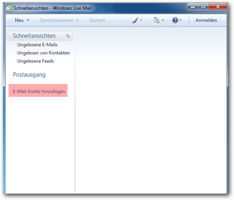 Windows 7 Mail - Bild 1